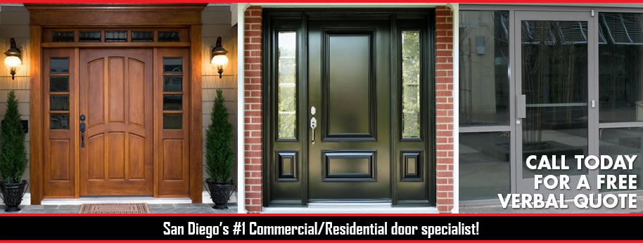 Serving San Diego Since 2004. We Provide San Diego Quality Installation,  Maintenance, And Repair To A Wide Variety Of Commercial And Residential  Doors.